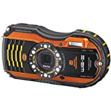 Pentax Optio WG-3 orange 16 MP Waterproof Digital Camera with 3-Inch LCD Screen (Orange)