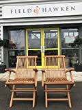 Oxford - Solid Teak Folding Armchair - Pack of 2