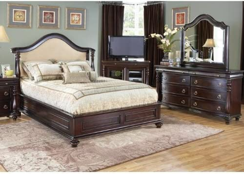 Amazon Com Cindy Crawford Home Provincetown 7 Pc King Bedroom