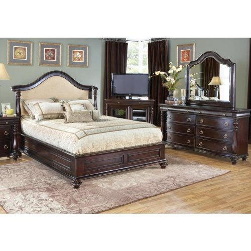 Amazoncom Cindy Crawford Home Provincetown Pc King Bedroom - Cindy crawford bedroom furniture discontinued