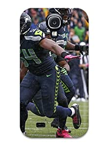 Tpu Shockproof/dirt-proof Seattleeahawks Cover Case For Galaxy(s4)