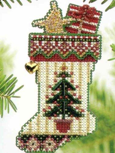 Evergreen Stocking - Cross Stitch Kit (Stocking Evergreen)