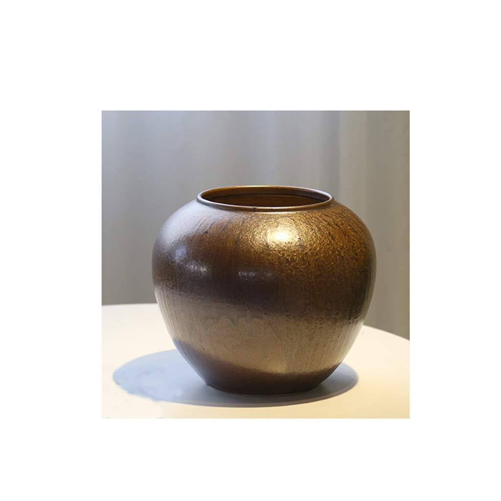 新しい中国のセラミック花瓶リビングルームのデスクトップの装飾金 SHWSM B07RT7LGRX