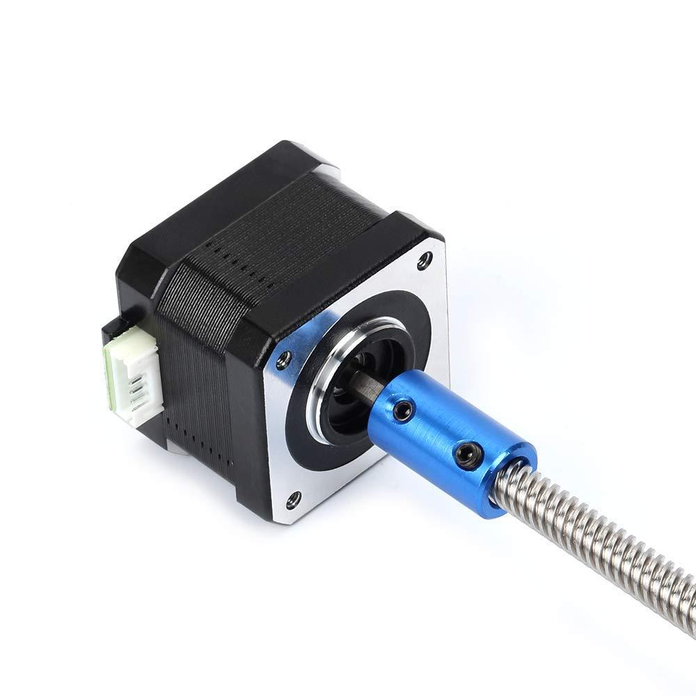 Furiga 3D-Druckkoppler 5mm auf 8 mm Nema 17 Motorwelle Flexible Kupplungen f/ür Ender 3 CR-10 10S S4 Prusa Duplicator i3 CNC-Maschine 5PCS