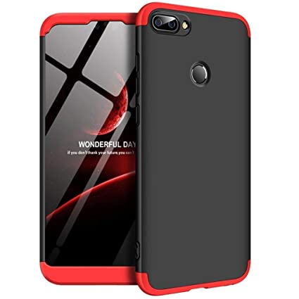 new styles 1f261 c27ce SPAZY CASE® Realme 2 / Oppo Realme 2 Cover Case Ull Body 3 in 1 Slim Fit  Complete 3D 360 Degree Protection Hybrid Hard Bumper Back Case Cover for ...