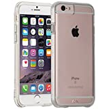 Case-mate iPhone 6 Naked Tough Case, Clear with Clear Bumper