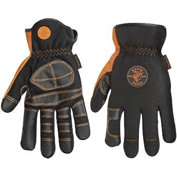 Klein Tools 40080 Lineman Work Gloves Medium Electrical