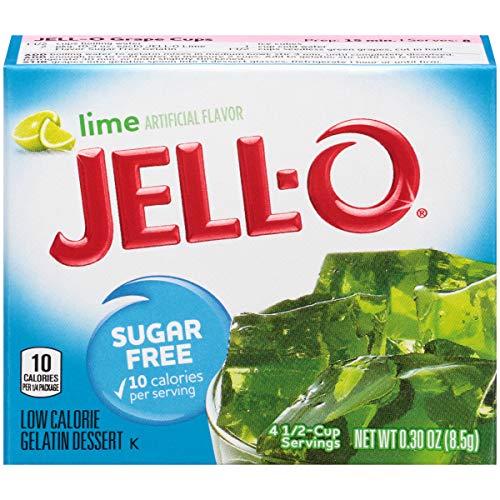Jell-O Sugar-Free Lime Gelatin Dessert Mix, 0.3 oz Box by Jell-O (Image #3)