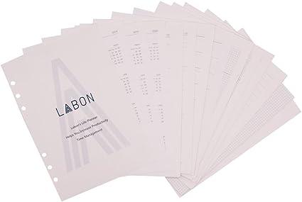 A6 liniert 100 Blatt mit 6er Lochung ansehen Ringbucheinlagen ca