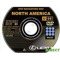 New Genuine OEM Generation 2/3 Lexus Navigation Update DVD, (13.1) U08, West Region