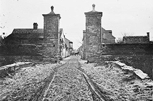 New 4x6 Civil War Photo: Entrance Gate of Saint Augustine, - South Gate Florida