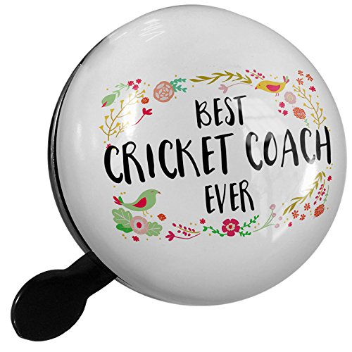 Small Bike Bell Happy Floral Border Cricket Coach - NEONBLOND by NEONBLOND