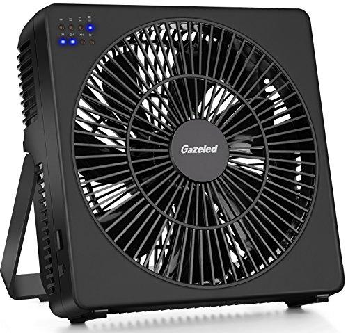 Gazeled Quiet Desk Fan, 8 Inch Personal Fan, Room Cooling Fan With 4  Speeds+Natural Wind, Timer, Adjustable Angle, Detachable Fan Guard, USB  Table Fan For ...