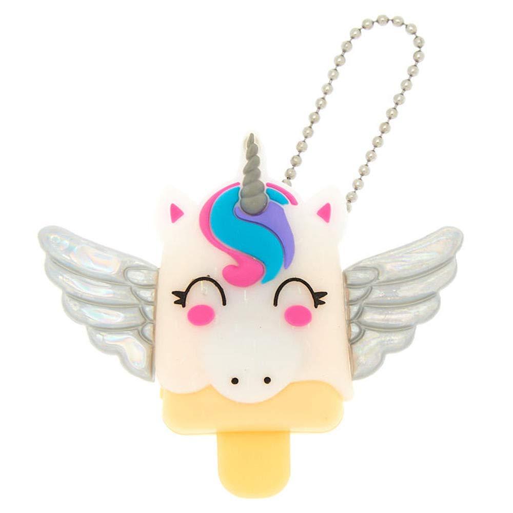 Claire's Girl's Pucker Pops Pegasus Lip Gloss - Vanilla White Claire' s Girl' s Pucker Pops Pegasus Lip Gloss - Vanilla White