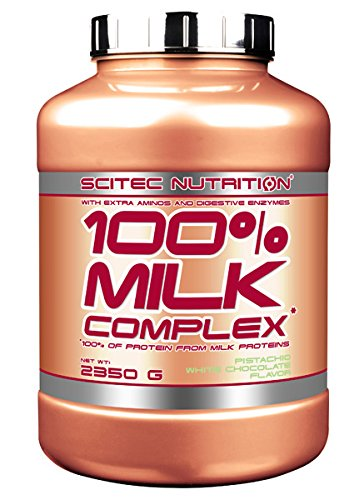 Scitec Nutrition 100% Milk Complex proteína chocolate blanco ...