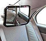 Comfi-Safe Baby Car Mirror-Best Baby Infant Car seats/Back Seat Mirror, Premium Baby Mirror,Crystal Clear Safety Mirror, Top Wide-angled Shatterproof Baby Mirror
