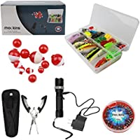 Mockins All In One Fishing Set Includes 139 Piece Fishing...