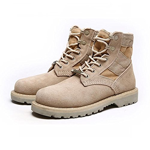 Abc Style Scarpe K023 Pu CN42 Desert Martin dimensioni Tools Yixiny 41 uk7 top gomma British High Outdoor 5 rBgxrS8w