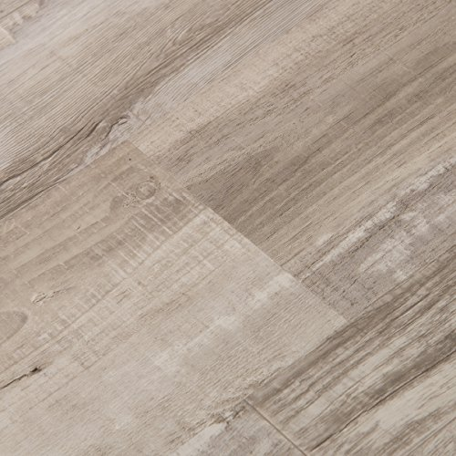 Ash Laminate Flooring (Cali Bamboo - Cali Vinyl Pro Commercial Vinyl Flooring, Extra Wide, Gray Ash Wood Grain - Sample)
