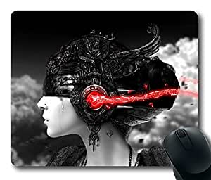 Design Mouse Pad Desktop Laptop Mousepads Crying Girl Listening Comfortable Office Mouse Pad Mat Cute Gaming Mouse Pad