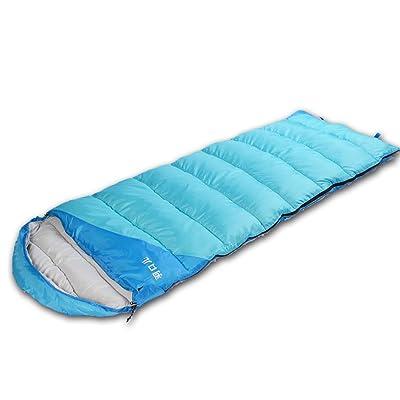 Guo Doux Sacs de couchage extérieurs Sacs de couchage en coton épais et élargi Sac de couchage pour adulte
