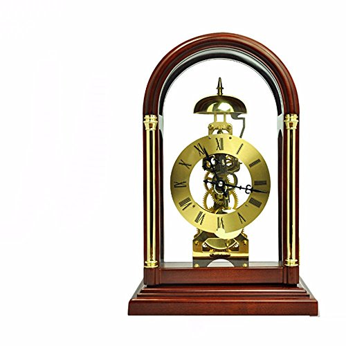 SUNQIAN-Chinese antique mechanical clock, wooden clock room, Polaris perspective movement swing clock, timekeeping clock '' by SUNQIAN