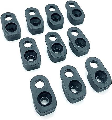 8 Pcs Canoe Kayak Deck Pad Eye Loops D Ring Fitting Rigging Hardware Safety