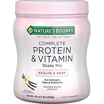 Nature S Bounty Optimal Solutions Protein Shake Vanilla