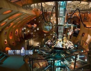 Doctor who wallpaper mural tardis interior fixed size for Amazon mural wallpaper