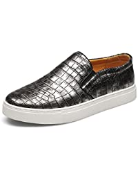 Mens Slip On Breathable Casual Shoes Comfy Sneakers
