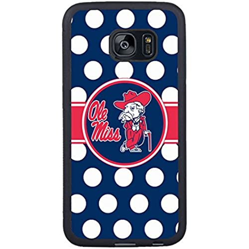 Samsung Galaxy S7 Edge Southeastern Conference Sec Football Ole Miss Rebels 01 Black Shell Case,Beautiful Case Sales