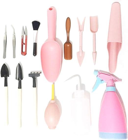 Kit jardineria, Fellibay jardineria herramientas para Mujer (15 Piezas), Rosa: Amazon.es: Jardín