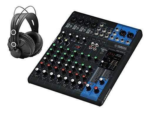 Yamaha 10 Channel Professional Monitoring Headphones