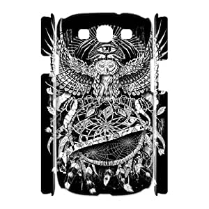 diy 3D Cell Phone Case for Samsung Galaxy S3 I9300 - Dreamcatcher owl eyes case 1