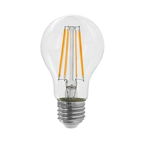 Dr.Lamp A19 7W Edison Bulbs LED Filament Globe Lamp, (Equivalent 60W)