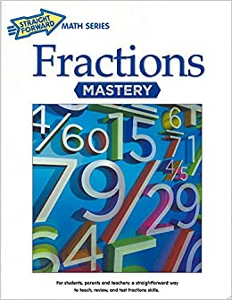 Book Fractions Mastery (Straight Forward Large Edition)