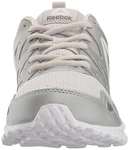 Reebok Chaussures De Course Suprême 3.0 Mt Crâne Gris / Argent / Blanc