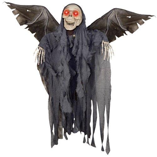 Gemmy Scary Haunted Winged Reaper Animierte Halloween Urlaub Prop