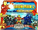 Marvel Super Hero Squad Iron Man 2 Movie Armor Wars Part I Battle Pack