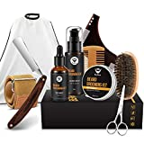 MayBeau Beard Kit for Men Set of 10 Beard Growth Grooming & Trimming