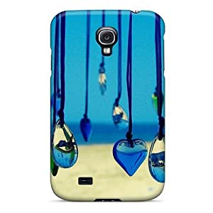Special Design Back Heart Medallions Phone Case Cover For Galaxy S4