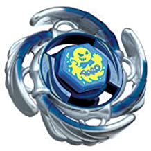 Takaratomy Japanese Beyblade #BB72 Metal Fusion 105F Premium Returns Aquario Booster Battle Top