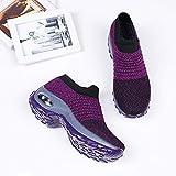 Women's Walking Shoes Sock Sneakers - Mesh Slip On