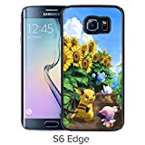 Fashion Designed Pokemon 15 Black Samsung Galaxy S6 Edge Phone Case
