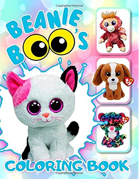 Amazon.com: Beanie Boos Coloring Book: 33 Awesome Illustrations For Kids  (9798608509490): Books, Exclusive: Books