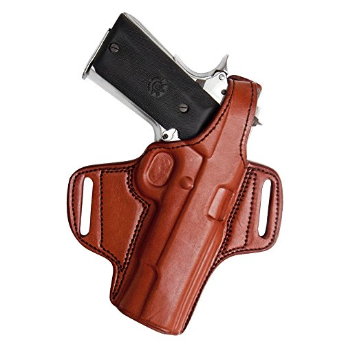 Tagua BH1-007 Thumb Break Belt Holster, Keltec 380/Ruger 380 with Laser, Brown, Right Hand by Tagua