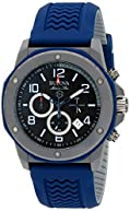 Bulova Marine Star Men's Rubber Strap Chronograph Watch BL 98B246
