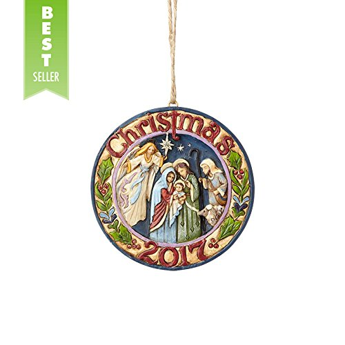 Holy Family Christmas Ornament - 9