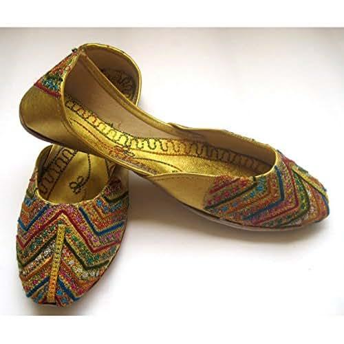 Bridal Shoes Boho: Amazon.com: US Size 7.5/Multi Color Sequins Bridal Ballet
