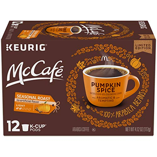 McCafe Pumkin Spice Keurig K Cup Coffee Pods 12-Count Now $3.52